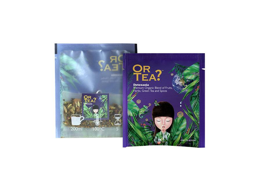 "Detoxania  - Green Tea with Herb & Fruit Infusion (25g) ""Or Tea?™ 有機淨心樂園10茶包裝 (排毒茶) 歐洲進口"" (Best Before: 2021-12-28)"