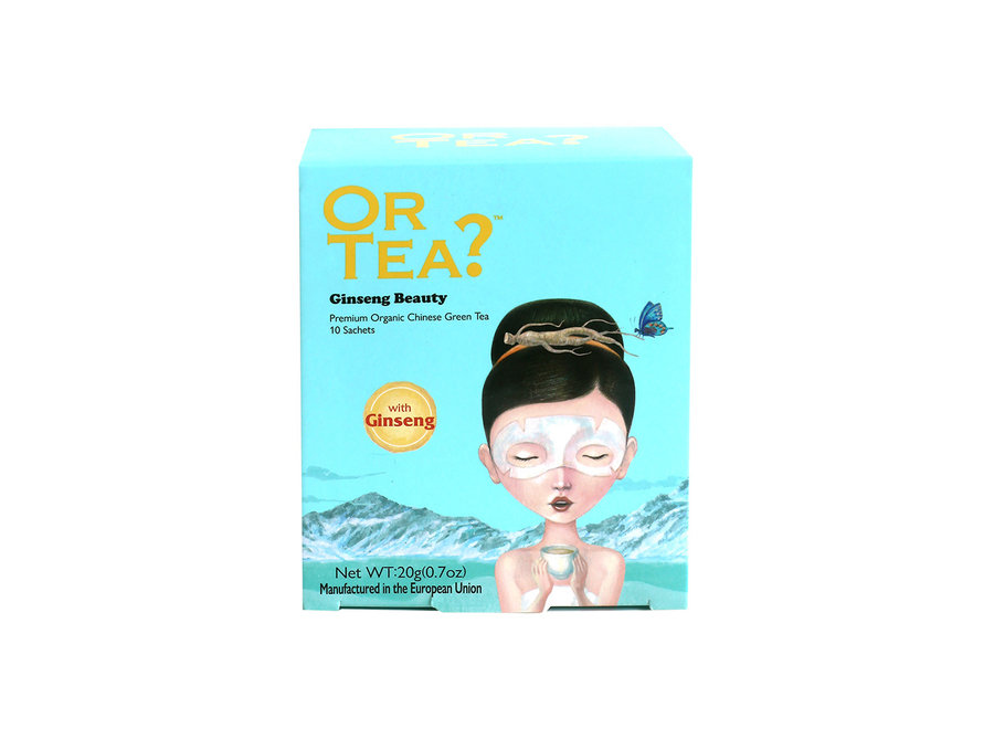 Ginseng Beauty - Green Tea with Herbal Infusion (20g)