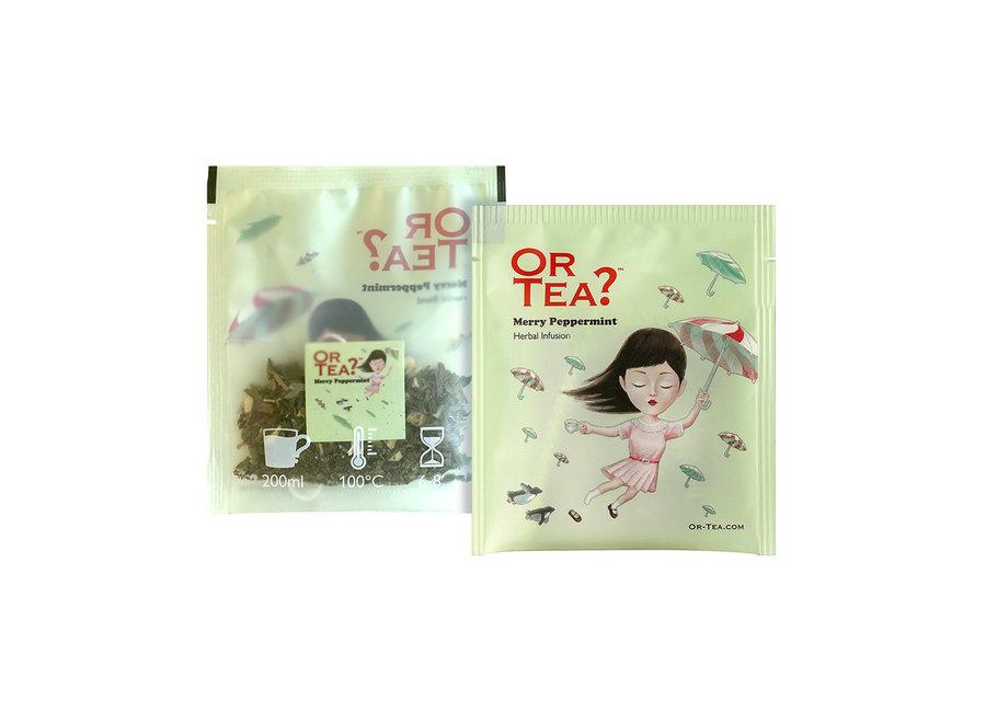 "Merry Peppermint - Herbal Infusion (20g)   ""Or Tea?™ 有機快樂薄荷10茶包裝 (薄荷茶) 歐洲進口"""