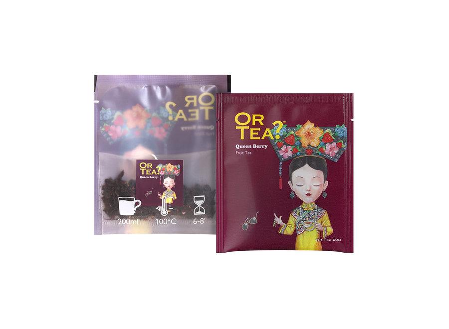 "Queen Berry - Berries Infusion (25g)  ""Or Tea?™ 有機莓果皇后10茶包裝 (莓果茶) 歐洲進口"""