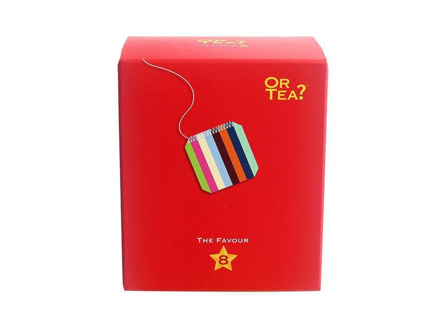 "Favour8 - Tasting Pack ""Or Tea?™ 八寶小盒  (8款最受歡迎的茶口味) 歐洲進口"""