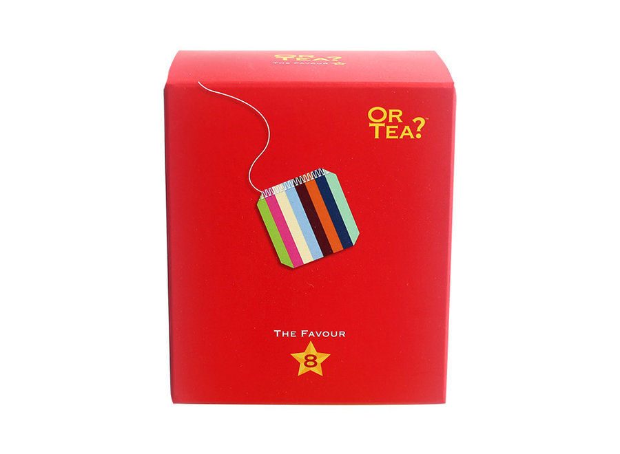 Favour8 - Tasting Pack (16g / 8 sachets) -  Or Tea?™ 八寶小盒