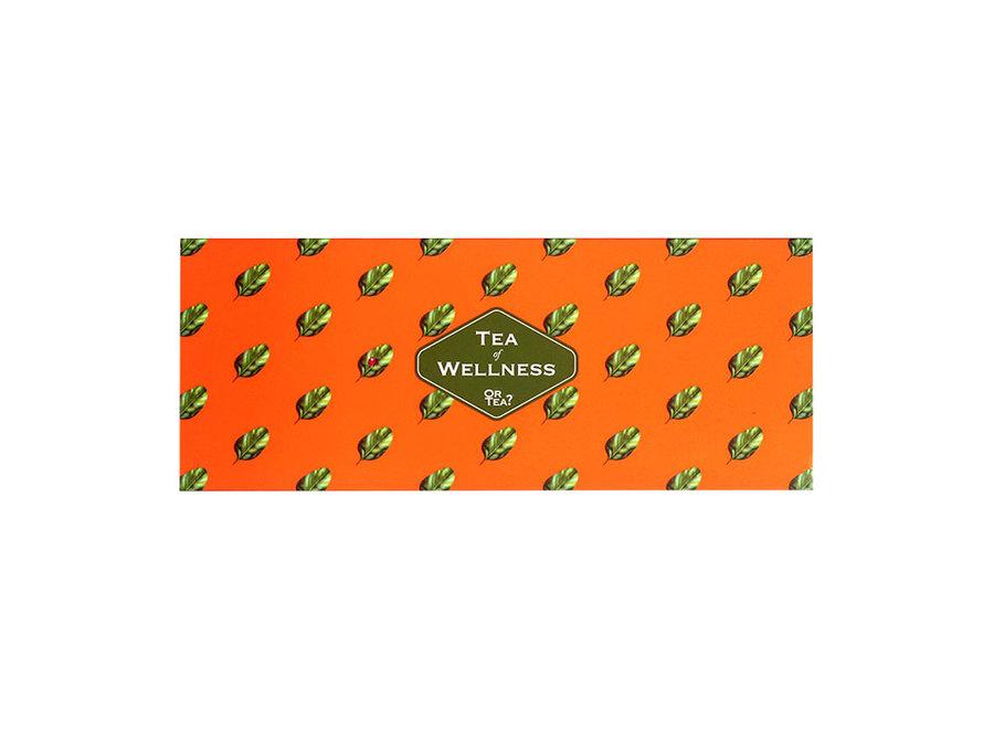 "3in1 Sachet Combo - Tea of Wellness   ""Or Tea?™ 養生茶禮盒 (薑茶|排毒茶|花草水果茶 )歐洲進口 BBD: 2021-12-28"