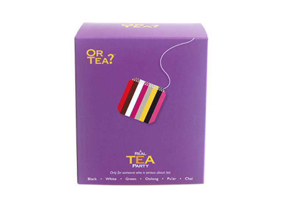 A Real Tea Party - Tasting Pack (17.5g / 8 sachets)