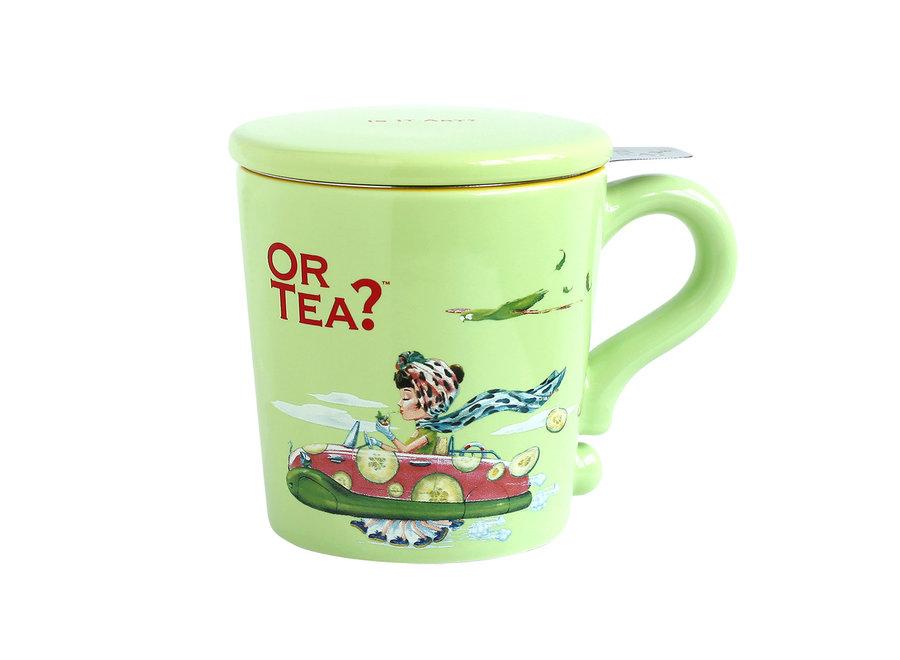 Lime Mug   (Or Tea?™ 檸檬綠彩瓷杯)