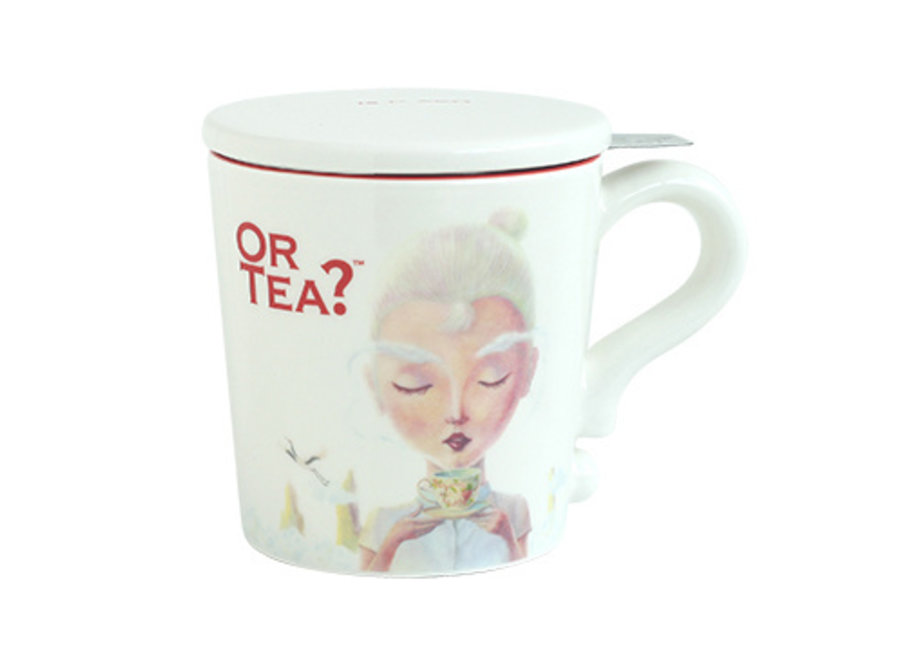 White Mug  (Or Tea?™ 白彩瓷杯)