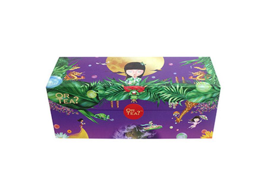 "SpecialTea Treasure (Version II) - (58.8g / 27 sachets)  Or Tea?™ 特色茶寶盒 II(包含9款精選口味的茶包) 歐洲進口"""