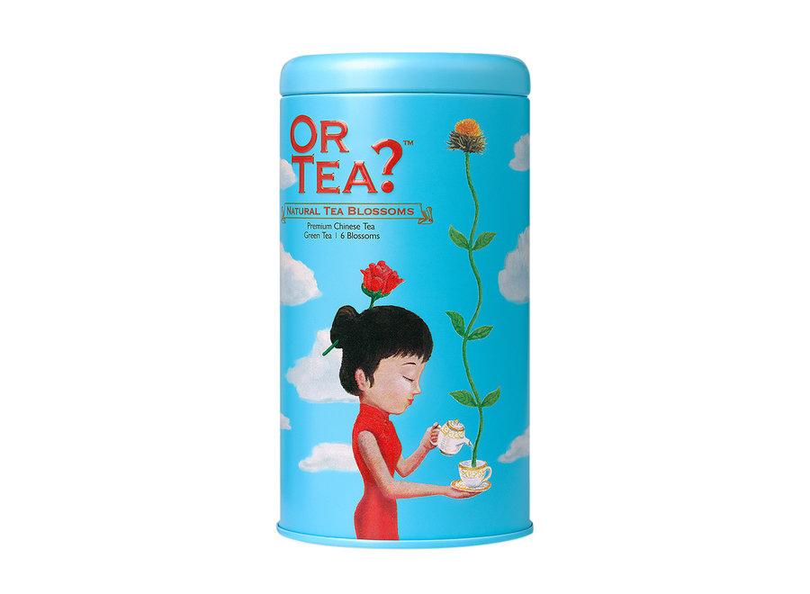 Natural Tea Blossoms  - Tin Canister (42g, 6pcs)
