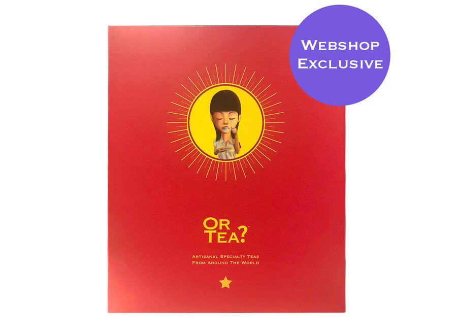 "Big Red Book – Edition II (Webshop Exclusive) ""Or Tea?™ 大紅書 II (包含9款精選口味的茶包) 歐洲進口"""