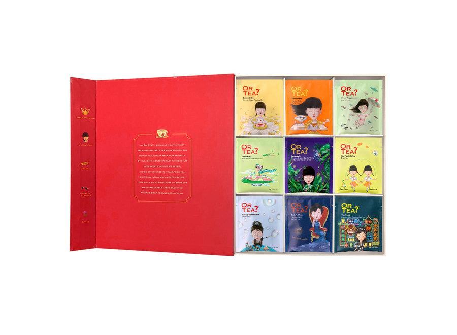 "Big Red Book – Edition II - ""Or Tea?™ 大紅書 II (包含9款精選口味的茶包) 歐洲進口"""