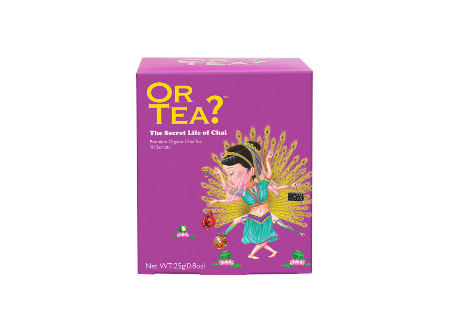 The Secret Life of Chai - Black tea with spice (25g)