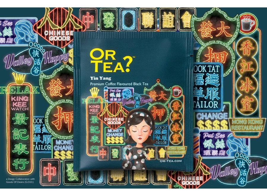 Or Tea? Yin Yang Tea2theworld - Hong Kong (postcard with 1 sachet)