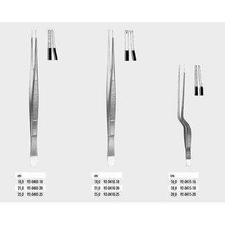Zepf Medical Zepf geïsoleerd pincet chirurgisch 1x2t 25,0cm