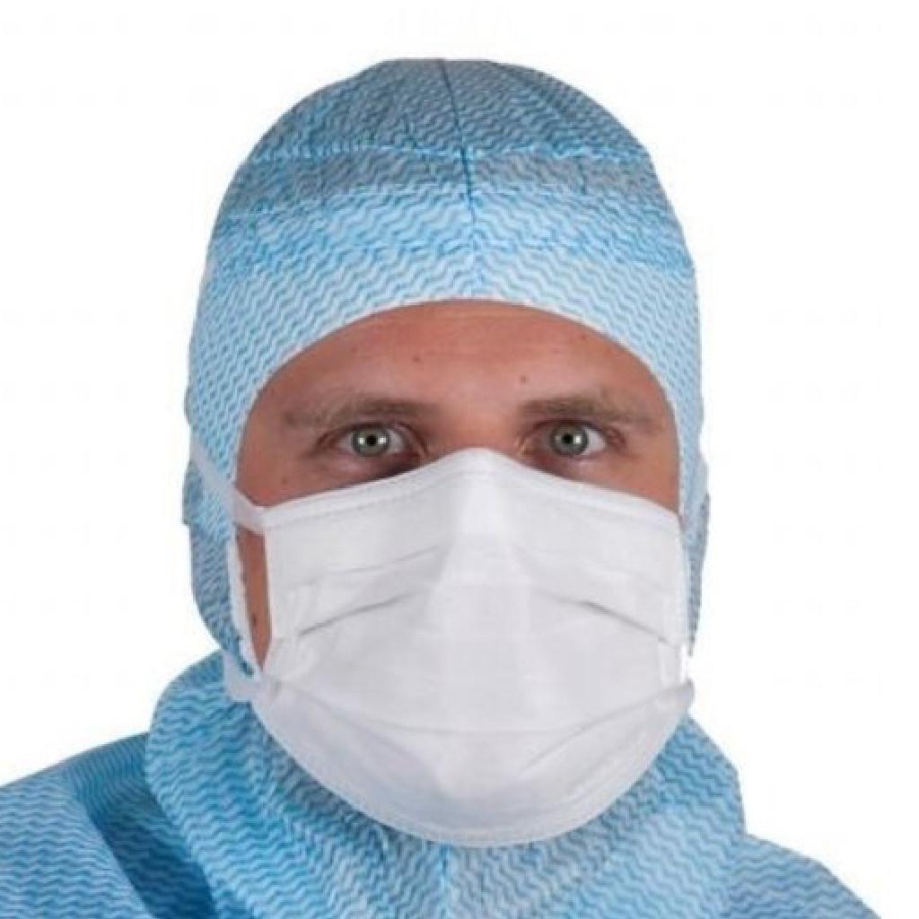 Evercare chirurgisch masker type IIR knooplinten, Comfort anti wasem