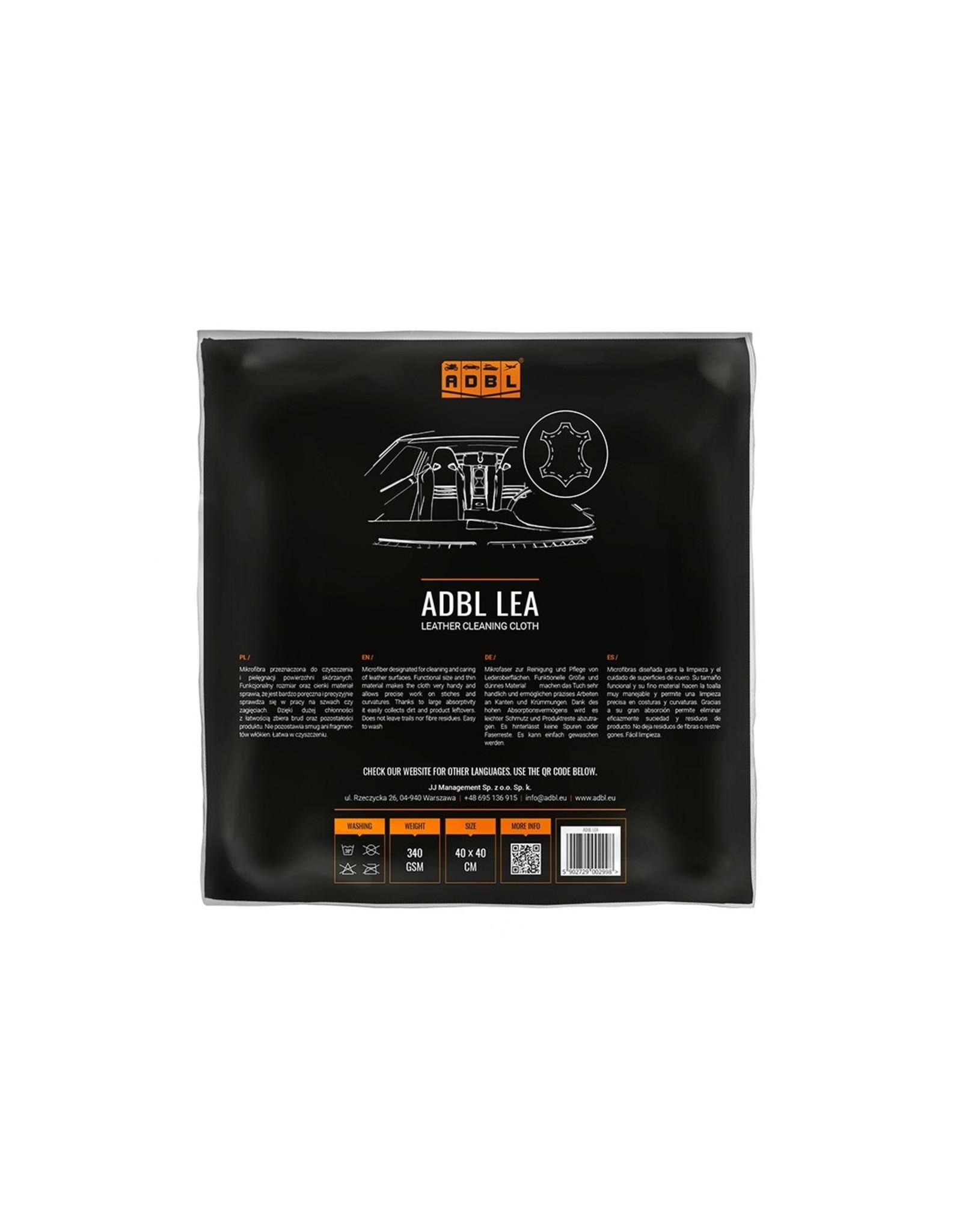 ADBL Lea Leder-Reinigungstuch