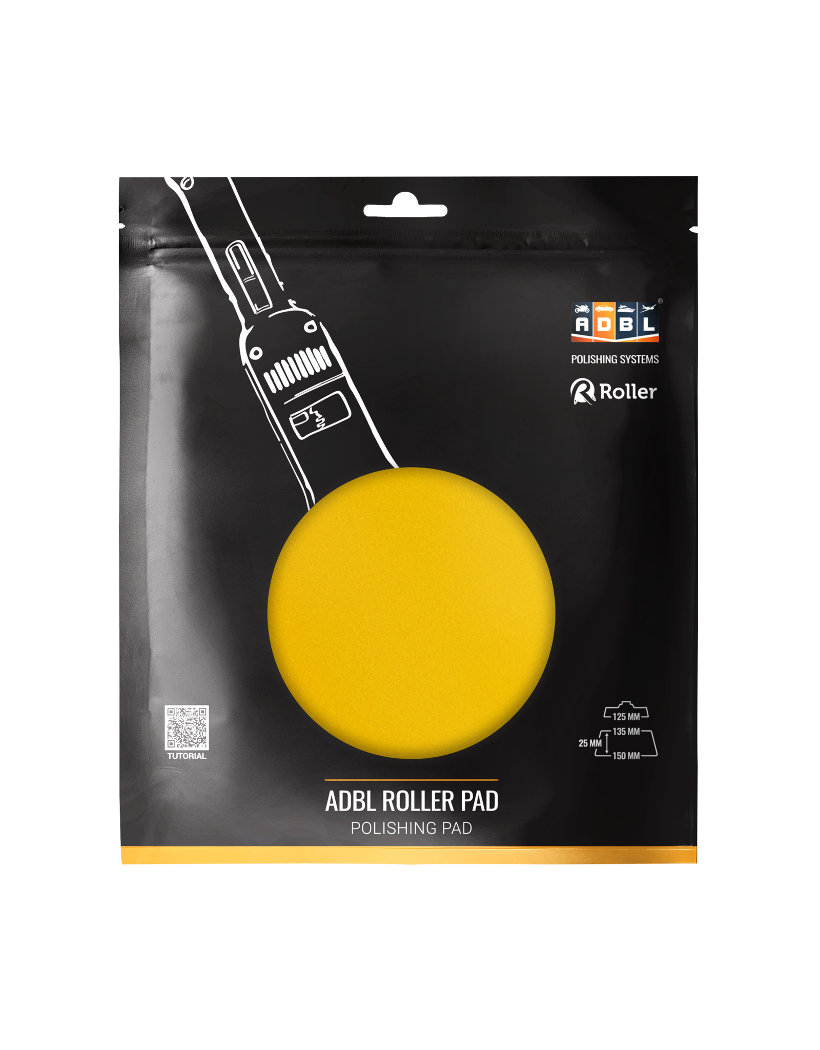 ADBL Roller Pad R Polish 150mm