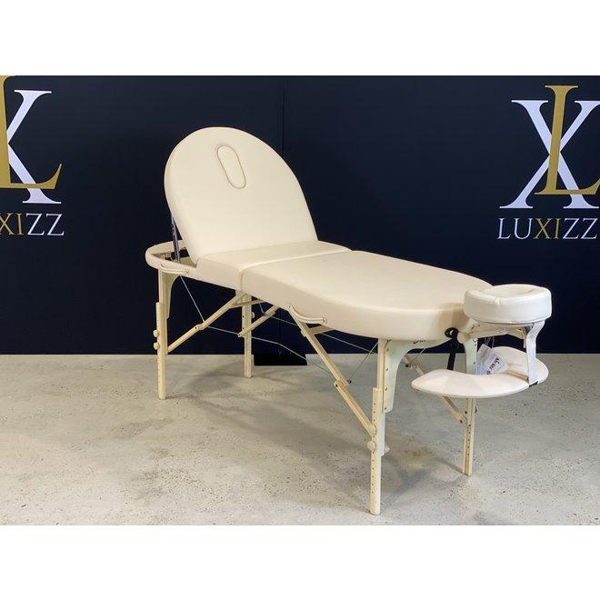 Zusammenklappbarer Massagetisch Bestwood Oval de luxe beige