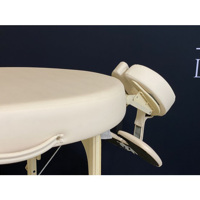 Collapsible Massage table Bestwood Oval de luxe beige