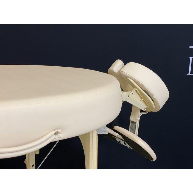 Inklapbare Massagetafel Bestwood Ovaal de luxe beige