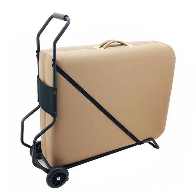 Trolley to transport portable massage tables