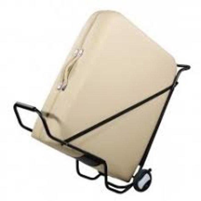 Trolley om draagbare massagetafels te vervoeren