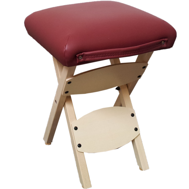 Woody massage stool foldable