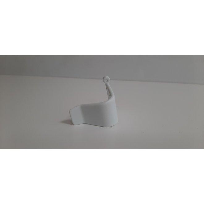 Plastic hooks for hand controller