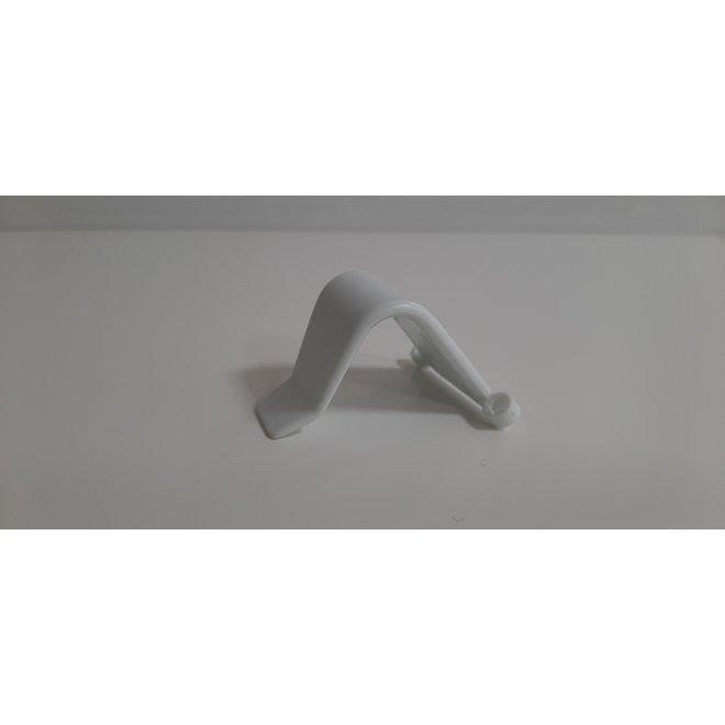 Kunststof haakjes t.b.v. handbediening