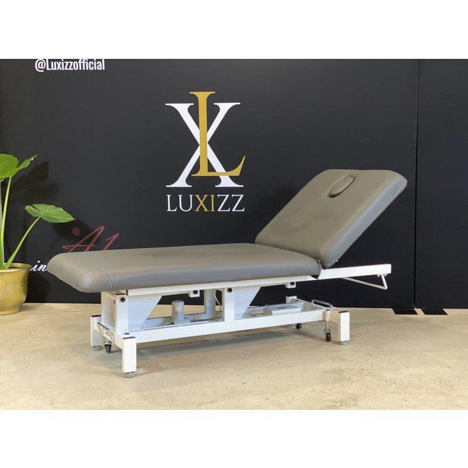 Hilow Grande electrische massagebank ''Antraciet'' 80 cm