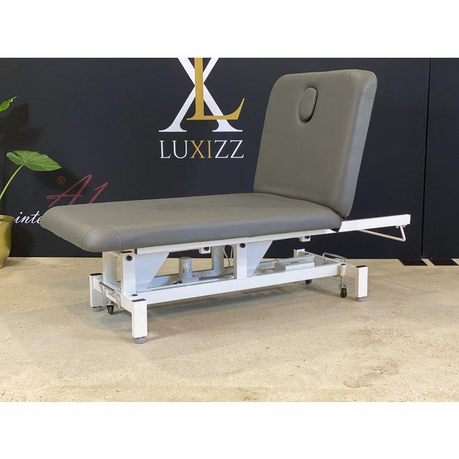 Hilow Grande elektrische Massageliege Anthrazit 80 cm