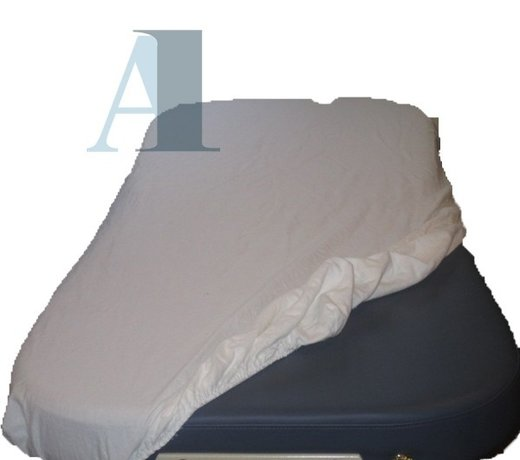 Protective covers for the massage table