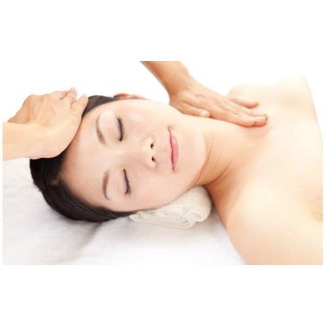 Gezicht - Hals - Schouder Massage