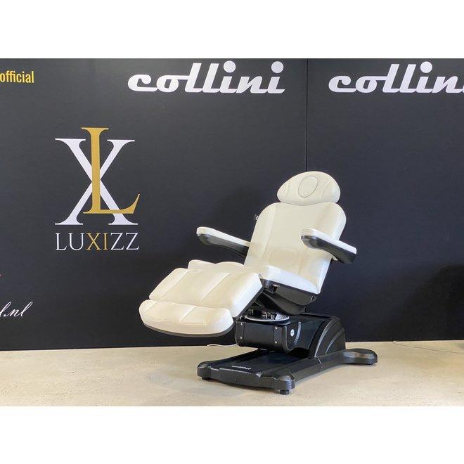 Treatment chair Hi-Line Turn + heating 4 motor Black/White edition