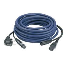 DAP FP08 - Schuko/XLR F -  IEC/XLR M 10 m Audio / Power