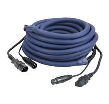 DAP FP12 - IEC/XLR M - IEC/XLR F 3 m DMX / Power