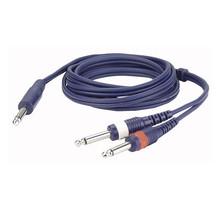 DAP FL32 - mono Jack > 2 mono Jack L/R 3 m