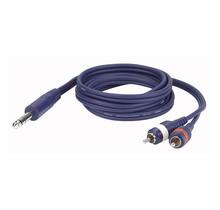 DAP FL35 - Stereo Jack  > 2 RCA Male L/R 3 m