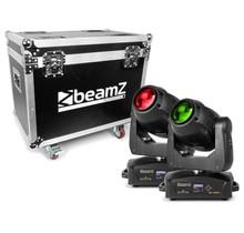 BeamZ Set van 2 IGNITE180 beam LED Movingheads in flightcase