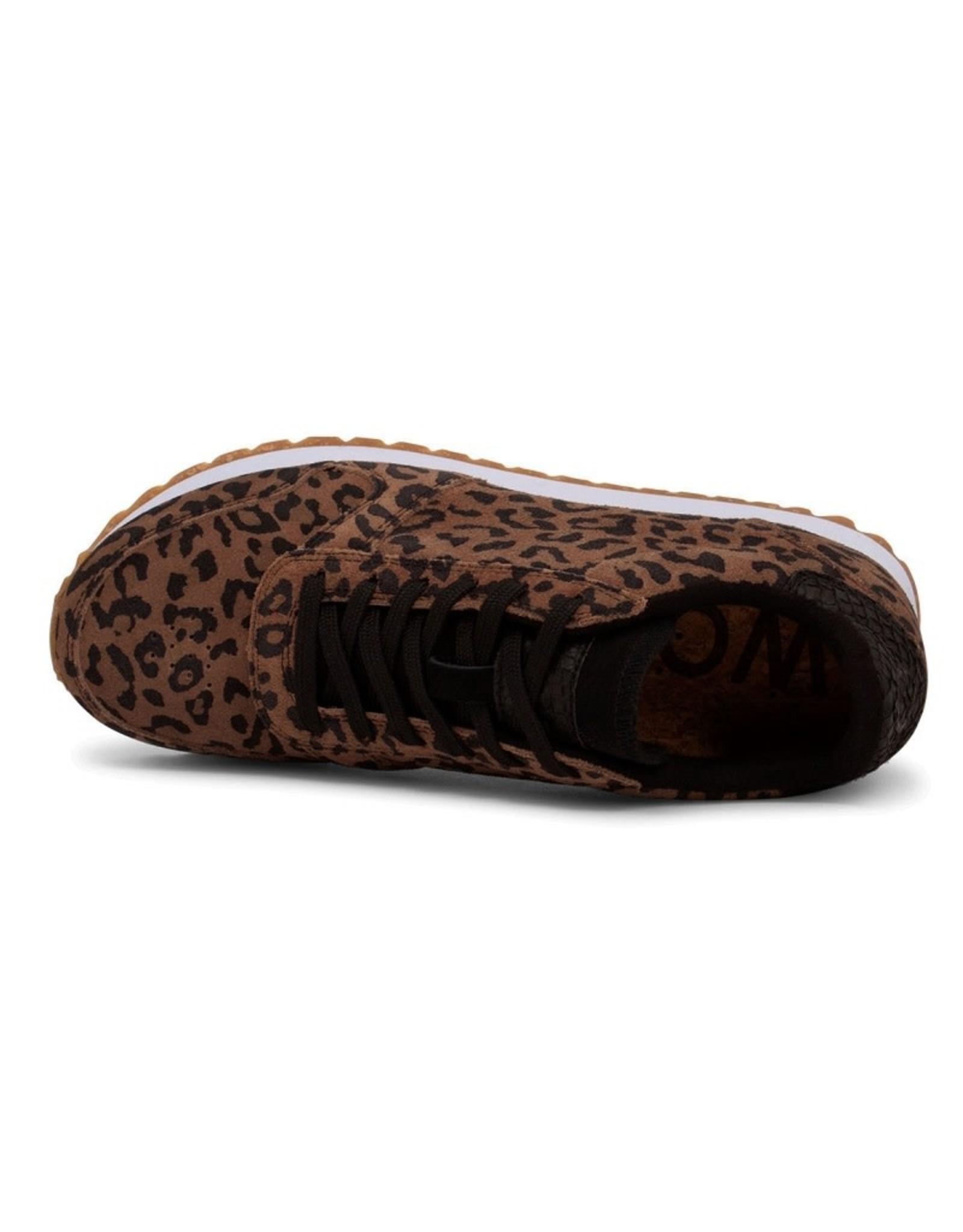 Woden Woden Ydun Suede Leopard
