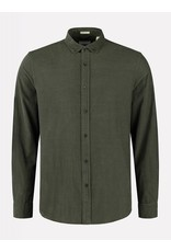 Dstrezzed Dstrezzed babycord overhemd army green