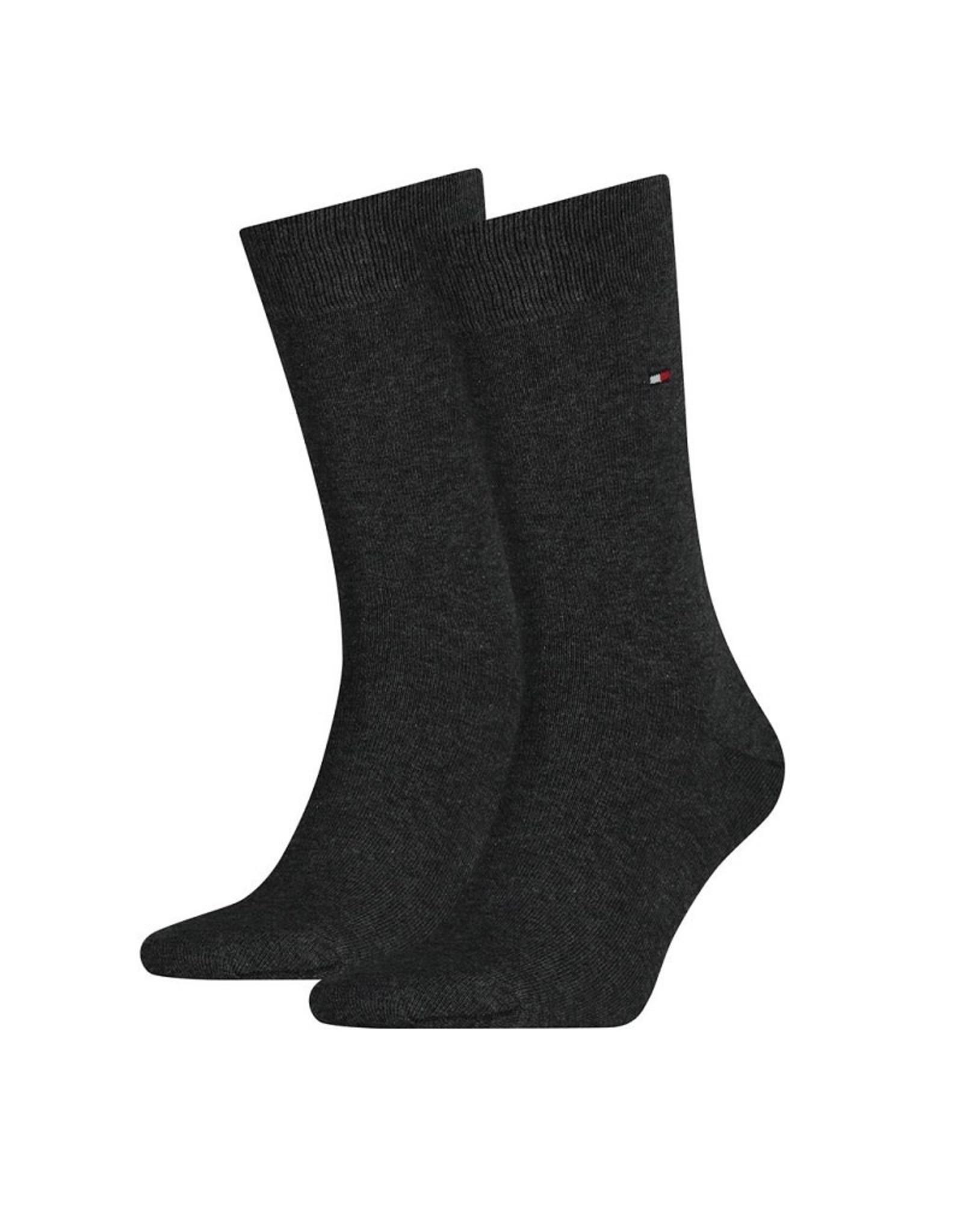 Tommy Hilfiger Tommy Hilfiger 2pack sokken Dark Grey