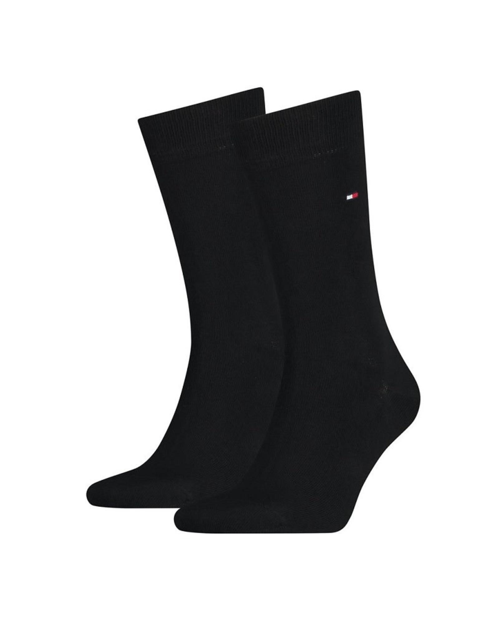 Tommy Hilfiger Tommy Hilfiger 2pack sokken Black