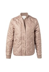 Yaya YAYA quilted jacket Dark sand