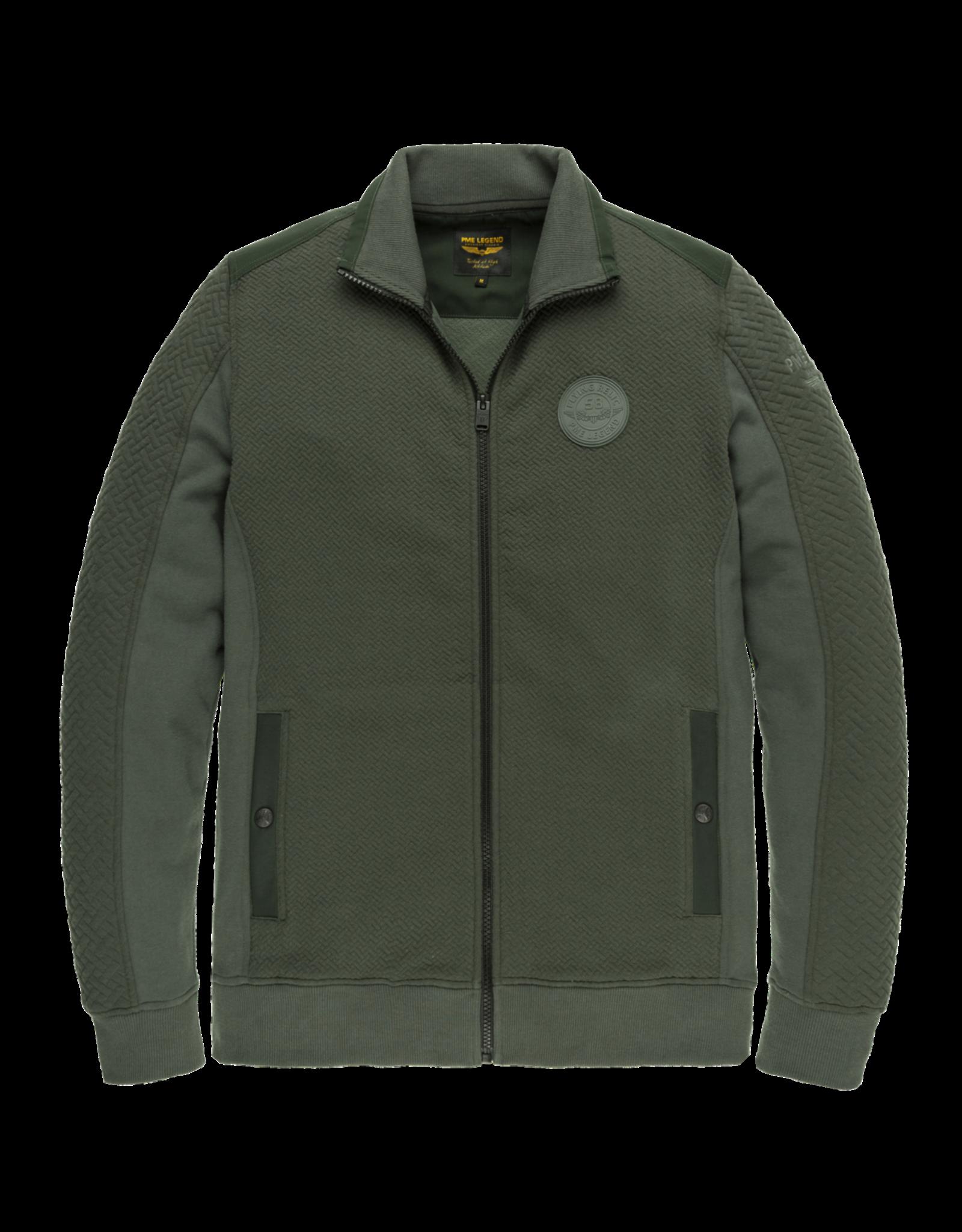 Pme Legend PME Legend zip jacket structure sweat Urban Chic