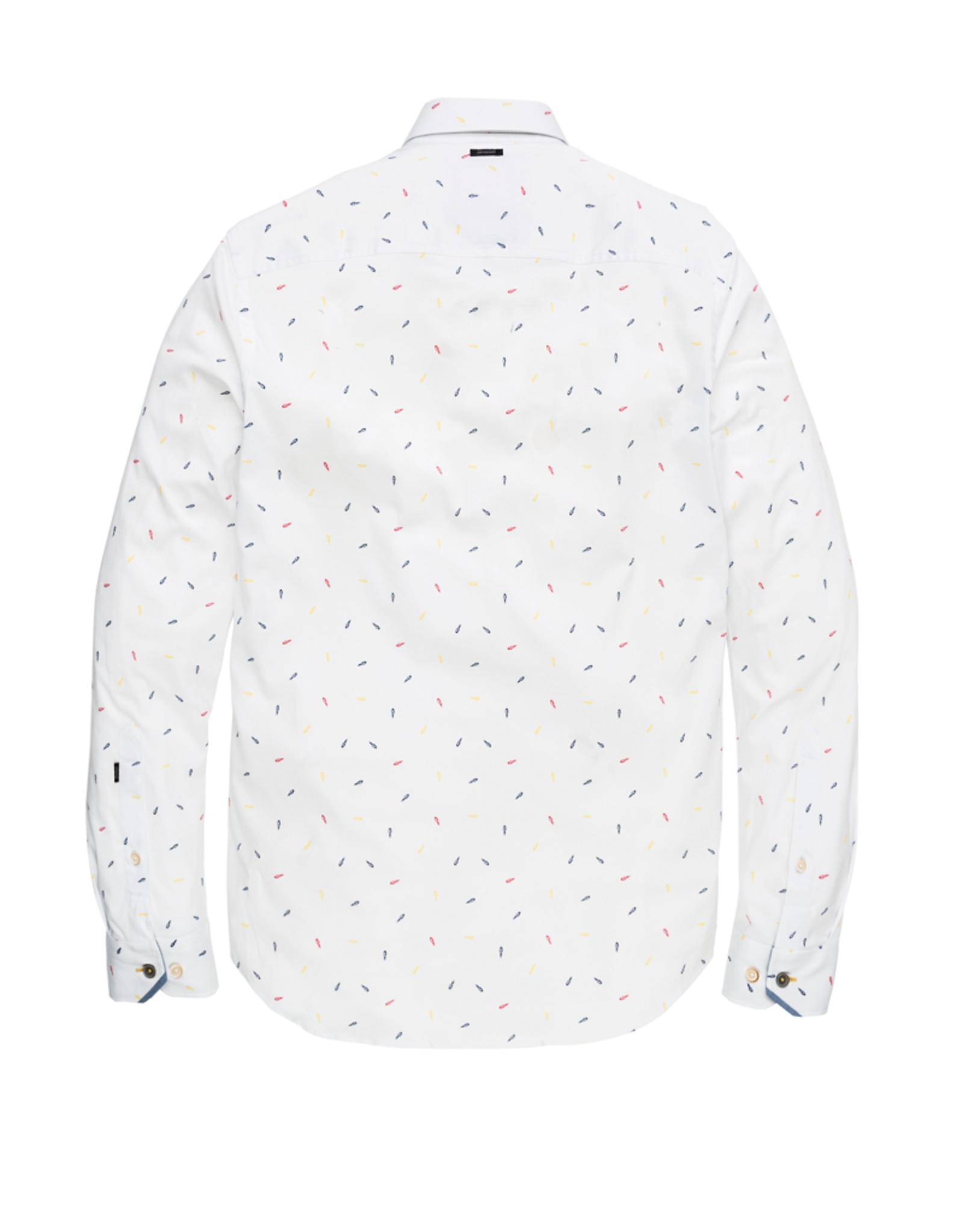 Vanguard Vanguard long sleeve shirt print on structured fabric