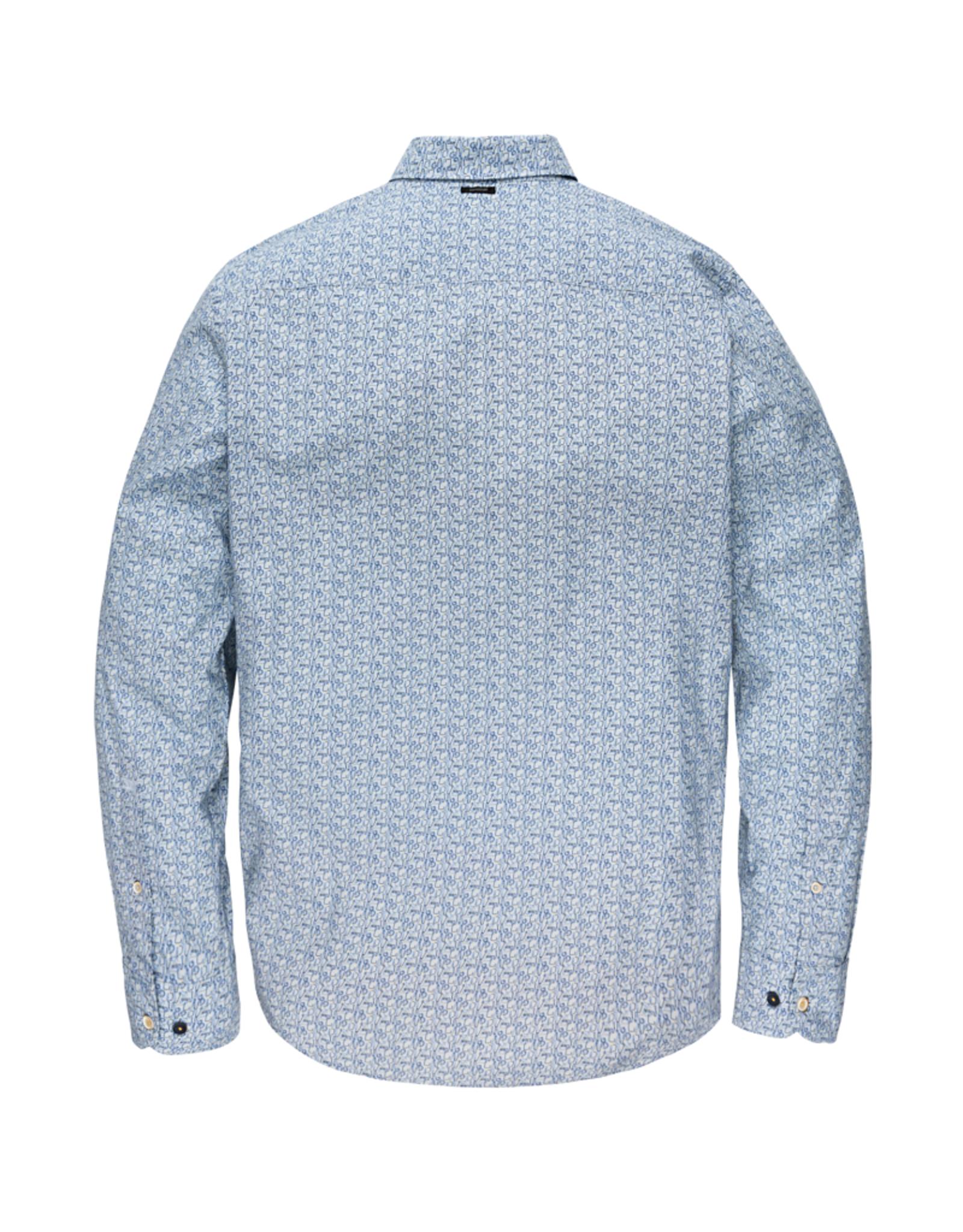 Vanguard Vanguard Longsleeve shirt printon poplin stretch 5300