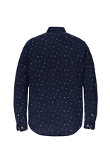 Vanguard Vanguard L/S shirt print Maritime Blue