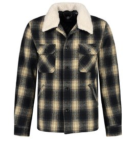 Dstrezzed Dstrezzed Carpenter jacket wool check DK.navy