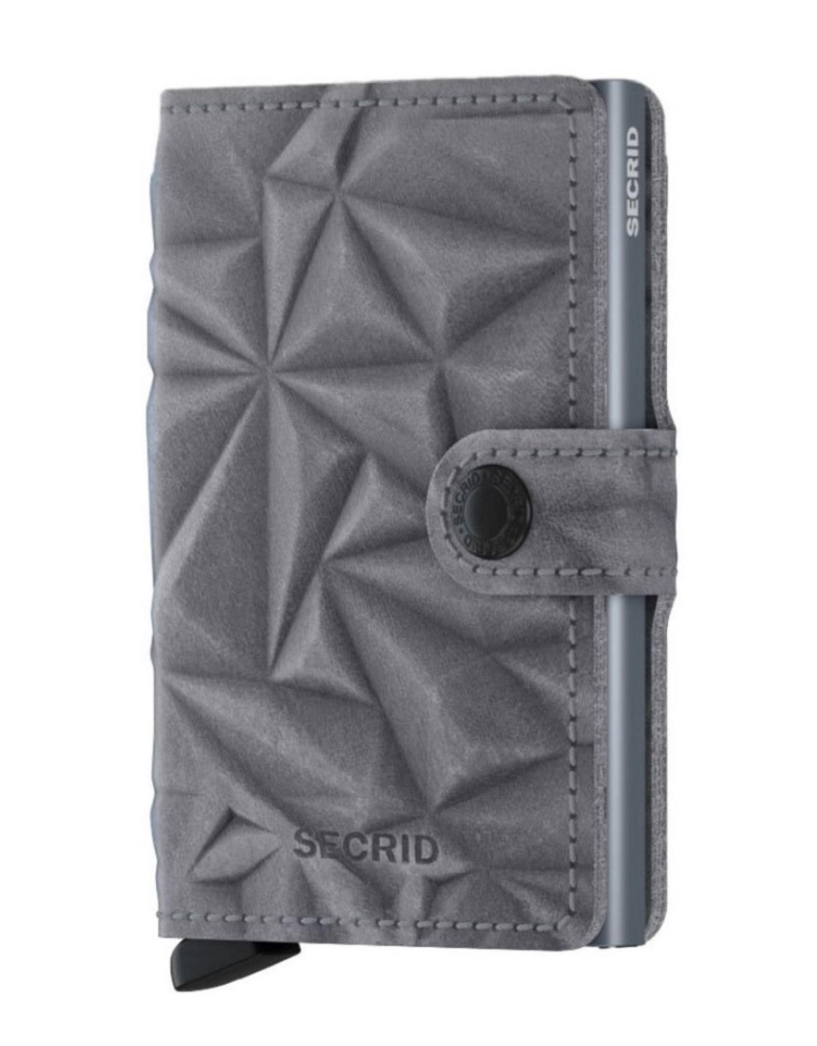 Secrid Secrid Miniwallet Prisma stone Black