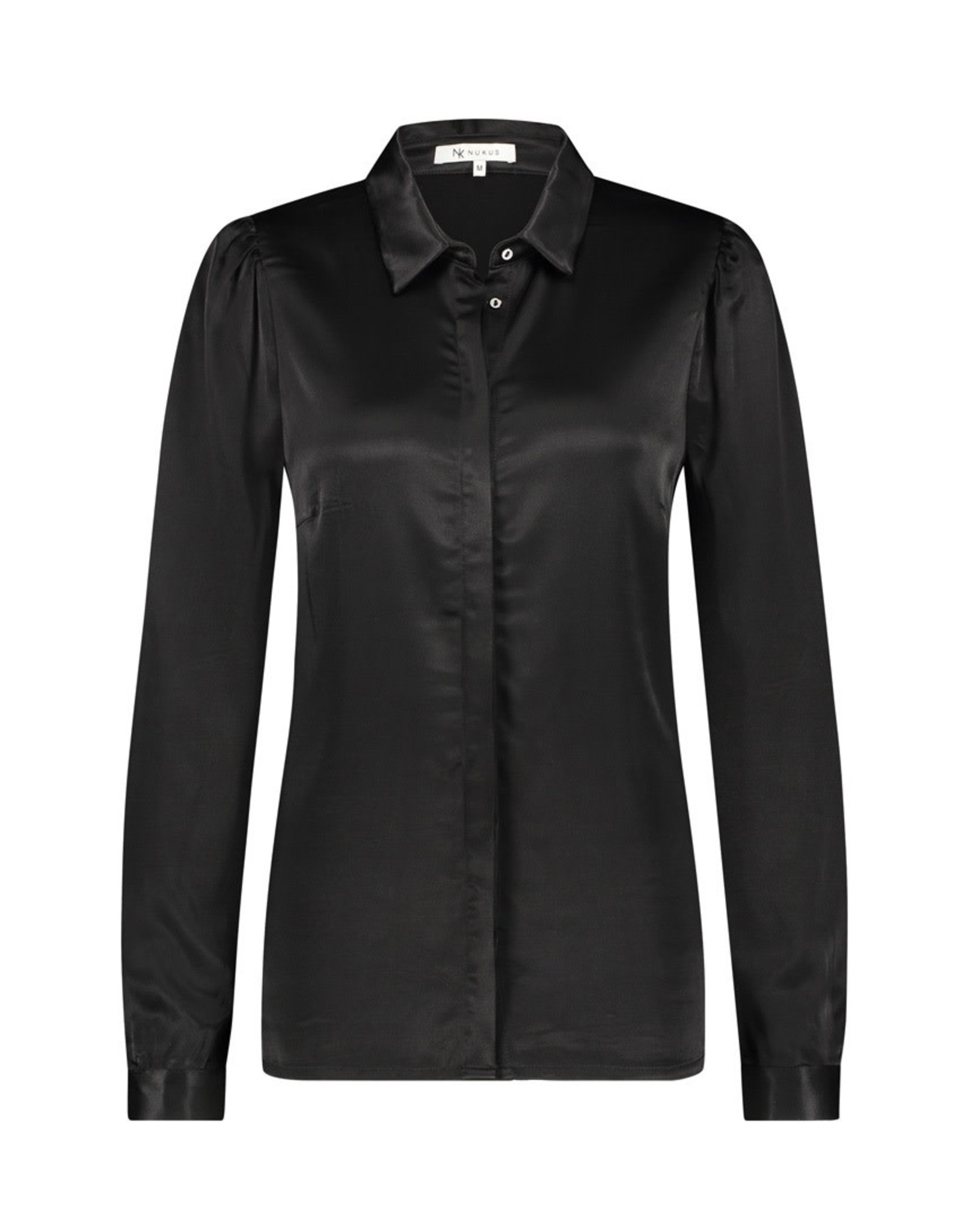 NUKUS NUKUS Diamant blouse Black